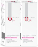 O3+ Professional Brightening & Whitening (Pack Of 2 ) Face Wash(100 g)