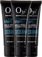 O3+ Men Ocean Mela Derm Cleansing Foam - Pack of 3 Face Wash(150 ml)