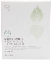 The Body Shop Moisture White Shiso Whitening Treatment Mask(Set of 4)