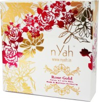 Nyah Rose Saffron Small Facial Kit 7 Steps(Single Facial) 42 g(Set of 7)