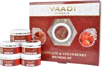 Vaadi Herbals Chocolate & Strawberry SPA Facial Kit 270 ml(Set of 5)