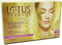 Lotus Radiant Gold Cellular Glow Facial Kit 37 g(Set of 4)