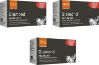 VLCC Diamond Facial Kit Pack of 3 111 g(Set of 3)