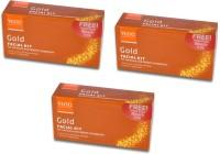 VLCC Gold Facial Kit Pack of 3 140 g(Set of 3)
