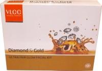 VLCC Diamond and Gold Fair glow Facial Kit 200 g(Set of 4)