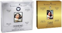 Shahnaz Husain Timeless Diamond & GoldFacial Kit (combo),Excellent For Young Girls 80 g(Set of 2)