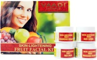 Vaadi Herbals Skin-Lightening Fruit Facial Kit 70 g(Set of 4)