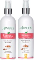 Jovees Fairness Lotion water resistant sun screen Liquorice with UV protection SPF-25 Fairness Lotion water resistant sun screen Liquorice with UV protection SPF-25(400 ml)