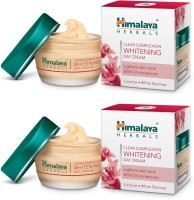 Himalaya Clear Complexion Whitening Day Cream (Pack of 2) Clear Complexion Whitening Day Cream (Pack of 2)(50 g)