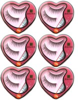 Jiaoer Styling Eyelash Day and Night Pack(Pack of 6) - Price 299 84 % Off