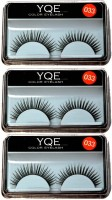 YQE Styling Eyelash Day and Night Pack(Pack of 3) - Price 145 86 % Off