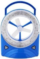 View Jy Super Rechargeable emergency light 3 Blade Table Fan(Blue) Home Appliances Price Online(Jy Super)