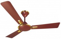 CROMPTON Aura Brn 1200 mm 3 Blade Ceiling Fan(Gold, Brown)