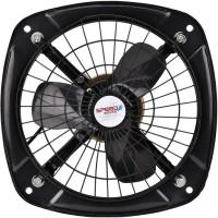 View Speed waves Air 9 3 Blades 3 Blade Exhaust Fan(Black)