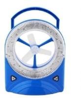 View Taiba Mini Desk Fan with LED Light 3 Blade Table Fan(Blue, White) Home Appliances Price Online(Taiba)