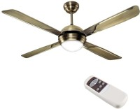 HAVELLS Avion With Underlight Remote 1320 mm 4 Blade Ceiling Fan(Brown, Pack of 1)