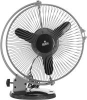View Polycab FTP2000601 50 Watt Plastic Cutie Multipurpose Fan (Grey Black) 3 Blade Wall Fan(Black) Home Appliances Price Online(Polycab)