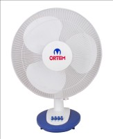 View Ortem ROYAL TABLE 3 Blade Table Fan(White) Home Appliances Price Online(Ortem)