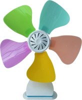 View Ezyhome ECF114 5 Blade Table Fan(Blue) Home Appliances Price Online(Ezyhome)