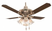 View Breezalit Elegance 4 Blade Ceiling Fan(Antique Brass) Home Appliances Price Online(Breezalit)