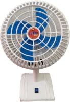 View Turbo 4000 Beauty 9 inch 4 Blade Table Fan(White, Blue) Home Appliances Price Online(Turbo 4000)