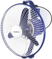 SURYA Windy 225 Mm 225 mm 3 Blade Wall Fan(Multicolor)