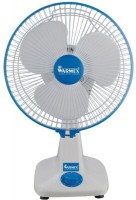 View Warmex Table 12 TF-02 3 Blade Table Fan(White, Blue) Home Appliances Price Online(Warmex)