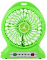 View Shopimoz Mini Portable Super Fast Mist Rechargeable Fan 4 Blade Table Fan(Green) Home Appliances Price Online(Shopimoz)