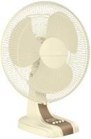 Luminous MojoHSTable 3 Blade Table Fan(White, Yellow)   Home Appliances  (Luminous)