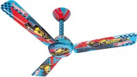 USHA Hot Wheels Fracer 3 Blade Ceiling Fan(Multicolor)