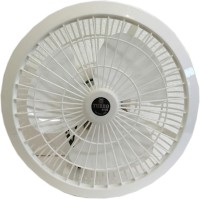 View Turbo 4000 Cabin High Speed 12 inch 3 Blade Wall Fan(White) Home Appliances Price Online(Turbo 4000)