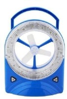 View Premium Care Rechargeable Mini Desk Fan with LED Light 3 Blade Table Fan(White, Blue) Home Appliances Price Online(Premium Care)
