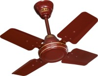 View Polar Super Speed 4 Blade 4 Blade Ceiling Fan(Brown) Home Appliances Price Online(Polar)