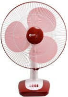 Orient Electric Desk 26 400mm 3 Blade Table Fan(red, Pack of 1)