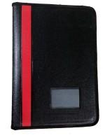 Bansal Paper Industries Matrix Executive Series Leather Document bag(Set Of 1, Black)