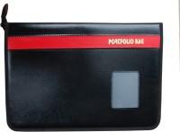 MAGPIE Executive Series Hard Bound File Folder Document Bag(Set Of 1, Black)