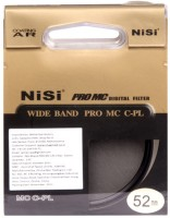 Nisi 52 mm Circular Polarizer Polarizing Filter (CPL)