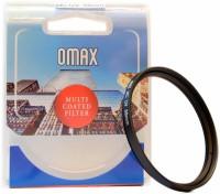 OMAX 58mm Multi-Coated UV For Canon EF-S 18-55mm IS II Lens UV Filter(58 mm)
