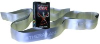 Thera-Band Latex Free CLX Consecutive Loops,Individual 5 Foot Pre-Cut, 9 Loops, Silver, Super Heavy, Advanced Level 2 Resistance Band(Silver, Pack of 1)