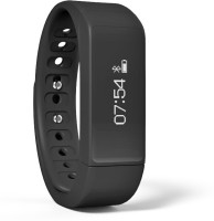 Fitmate Fitmate Fitness Tracker I5 Plus Water proof Pedo Meter Calorie Tracking Bracelet band Fitness Band(Black, Pack of 1)
