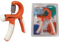 USI Hand Grip 800hg Hand Grip/Fitness Grip(Orange, White)