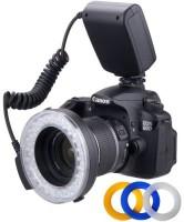 Polaroid Polaroid 48 Macro LED Ring Flash PLMRFU & Light Includes 4 Diffusers (Clear, Warming, Blue, White) For The Nikon D5300, D5000, D3000, D3200, D5100, D5200, D3100, D7000, D7100, D4, D800, D800E, D600, D610, D40, D40x, D50, D60, D70, D80, D90, D100, D200, D300, D3, D3S, D700, Digital SLR Camer
