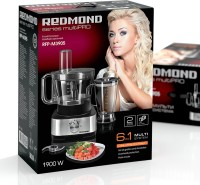 REDMOND RFP-M3905 700 W Food Processor(Black, Metallic)