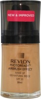 Revlon Photo Ready Air Brush Effect Make Up Spf 20 Natural Beige Foundation(Natural Beige, 30 ml)