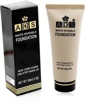 ADS WHITE INVISIBLE FOUNDATION Liner & Rubber Band -PHGU Foundation(Beige, 60 ml) - Price 110 50 % Off