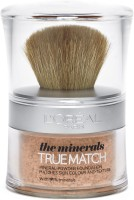 Loreal Paris True Match Naturale Mineral Foundation - 10 g(N3 beige creme / creamy beige, 10 g)