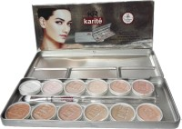 Out Of Box Karite 12 Shades Make-up Base Concealer Foundation(12 Colors pallate, 60 g)