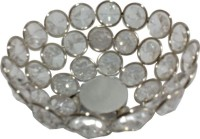 Decor8 Iron, Crystal Fruit & Vegetable Basket(Silver)