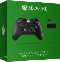 Microsoft Xbox One Wireless Controller + Play and Charge Kit(Black, For Xbox One)