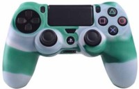 microware Playstation Controller Sleeve Skin Cover  Gaming Accessory Kit(Green, For PS4)